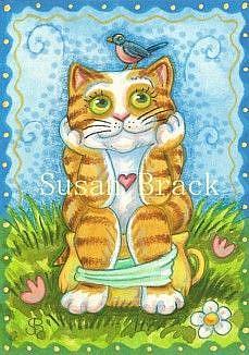 Art: LITTER BOX TRAINEE by Artist Susan Brack