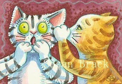 Art: JUICY SECRETS by Artist Susan Brack
