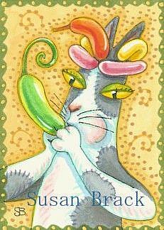 Art: Hiss N' Fitz - BALLOON MASTER by Artist Susan Brack