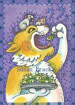 Art: CAN'T STICK TO THE DIET by Artist Susan Brack