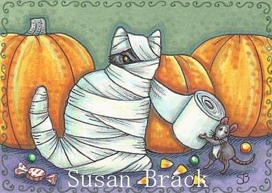 Art: T P THE CAT by Artist Susan Brack