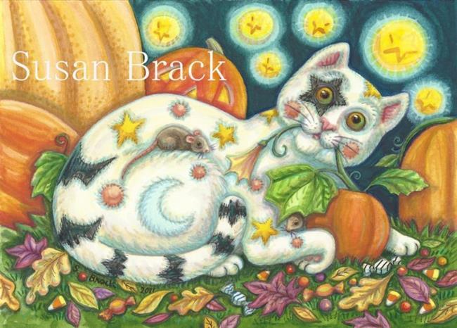 Art: SPOOKY LOU by Artist Susan Brack