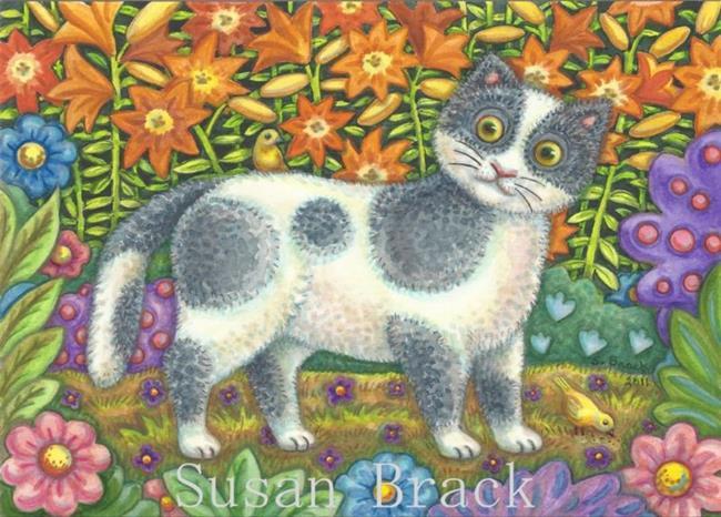 Art: FUZZY WUZZY by Artist Susan Brack