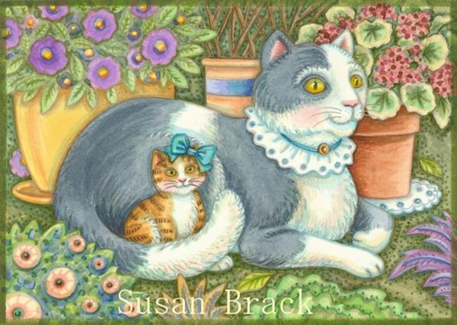 Art: BELLA AND KATERINA by Artist Susan Brack