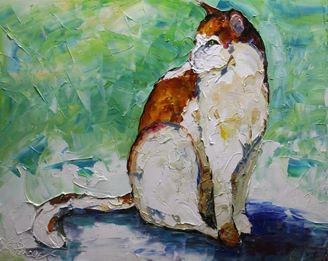 Art: Miss Kitty by Artist Laurie Justus Pace