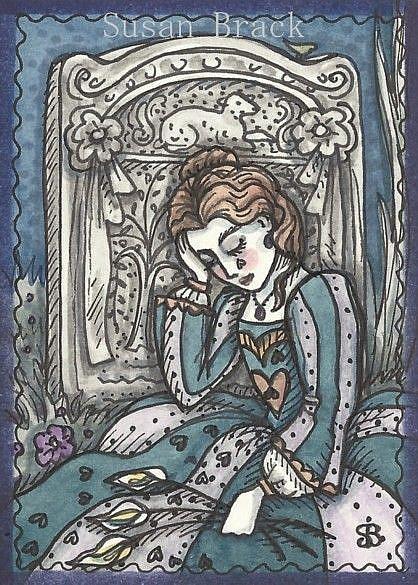 Art: SWEET SORROW by Artist Susan Brack