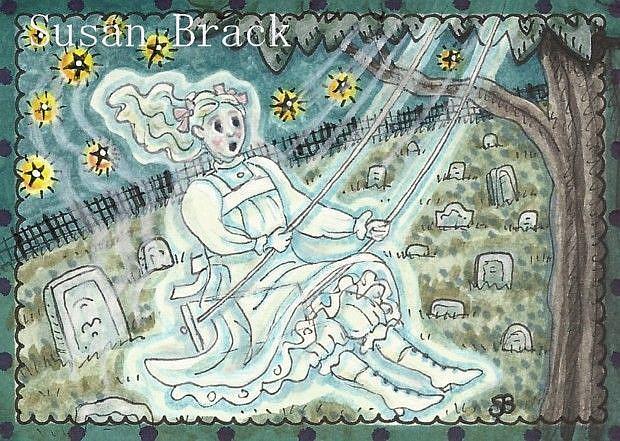 Art: MIRABELLA by Artist Susan Brack