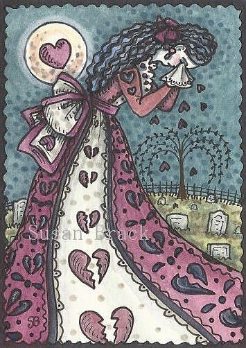 Art: A VALENTINE BROKEN by Artist Susan Brack