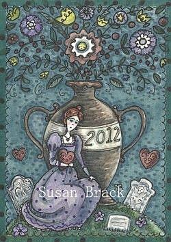 Art: MISSING YOU ANOTHER YEAR by Artist Susan Brack
