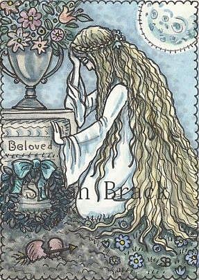 Art: LOVE FLOWS ETERNAL by Artist Susan Brack