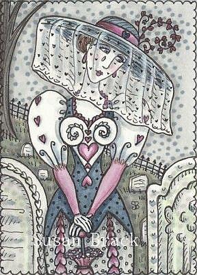 Art: LONELY HEART by Artist Susan Brack