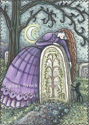 Art: WIDOW'S EMBRACE by Artist Susan Brack