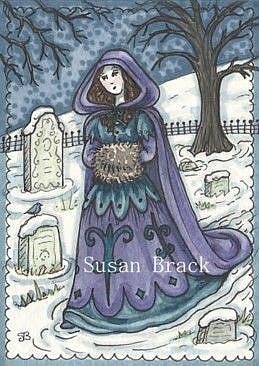 Art: COLD BONES by Artist Susan Brack