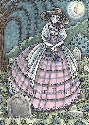 Art: SWEET SORROW # 2 by Artist Susan Brack