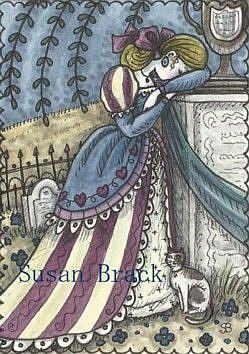 Art: DAUGHTER OF THE REVOLUTION by Artist Susan Brack