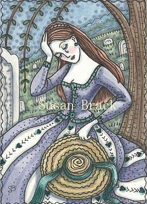 Art: LOVER'S TEAR by Artist Susan Brack