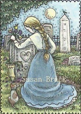 Art: FROM MOTHER'S GARDEN by Artist Susan Brack
