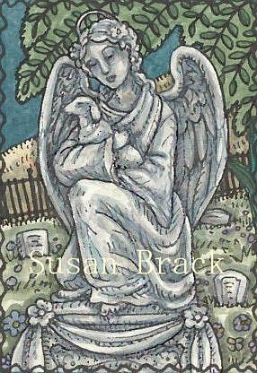 Art: GUARDIAN ANGEL by Artist Susan Brack