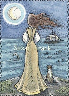 Art: TAKEN BY THE SEA by Artist Susan Brack