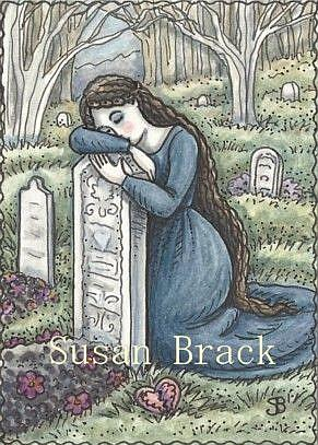 Art: LAST EMBRACE by Artist Susan Brack