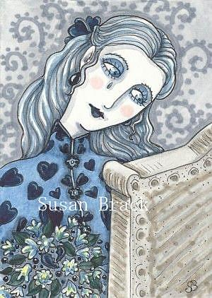 Art: WISHING YOU WERE HERE by Artist Susan Brack
