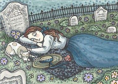 Art: DREAMS OF THOSE DEPARTED by Artist Susan Brack