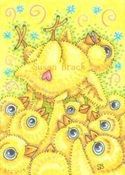 Art: ROCKER CHICK by Artist Susan Brack