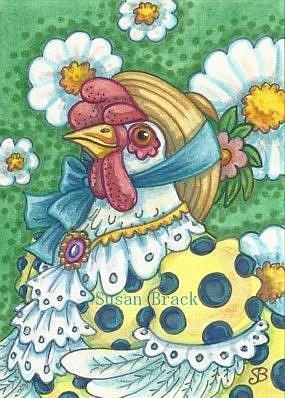 Art: HARRIET HENSETTER by Artist Susan Brack
