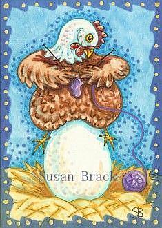 Art: GRADE A EXTRA LARGE by Artist Susan Brack