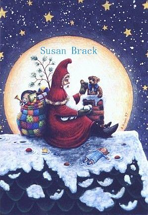 Art: STARRY NIGHT Crop by Artist Susan Brack