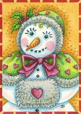 Art: COLD HANDS WITH A WARM HEART by Artist Susan Brack