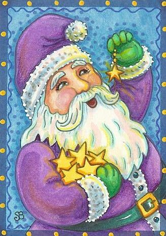 Art: A CHRISTMAS WISH by Artist Susan Brack