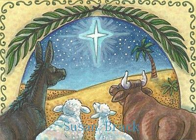 Art: BLESSED ARE THE ANIMALS by Artist Susan Brack