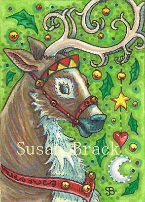 Art: BLITZEN by Artist Susan Brack