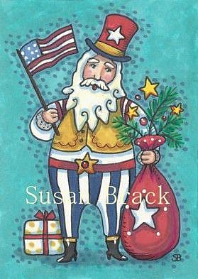 Art: HO HO HO CHRISTMAS IN JULY by Artist Susan Brack