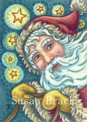 Art: ON DONNER AND BLITZEN by Artist Susan Brack