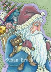 Art: TEDDY AND TOYS by Artist Susan Brack