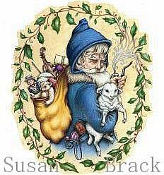 Art: PERE NOEL Crop by Artist Susan Brack