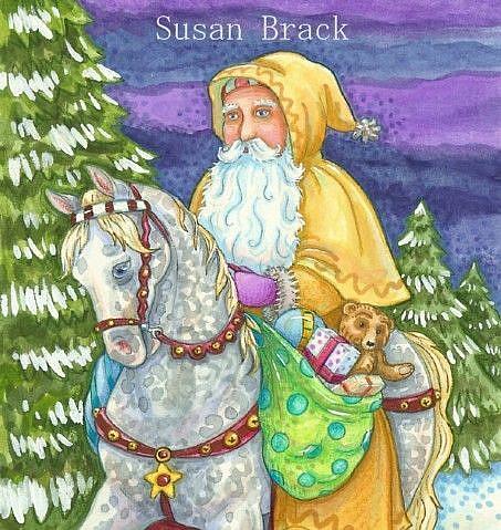 Art: WINTERS JOURNEY by Artist Susan Brack
