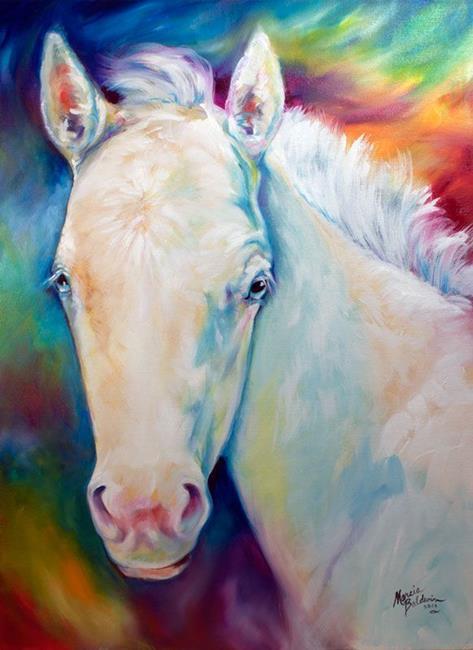 Art: MISS MONROE by Artist Marcia Baldwin