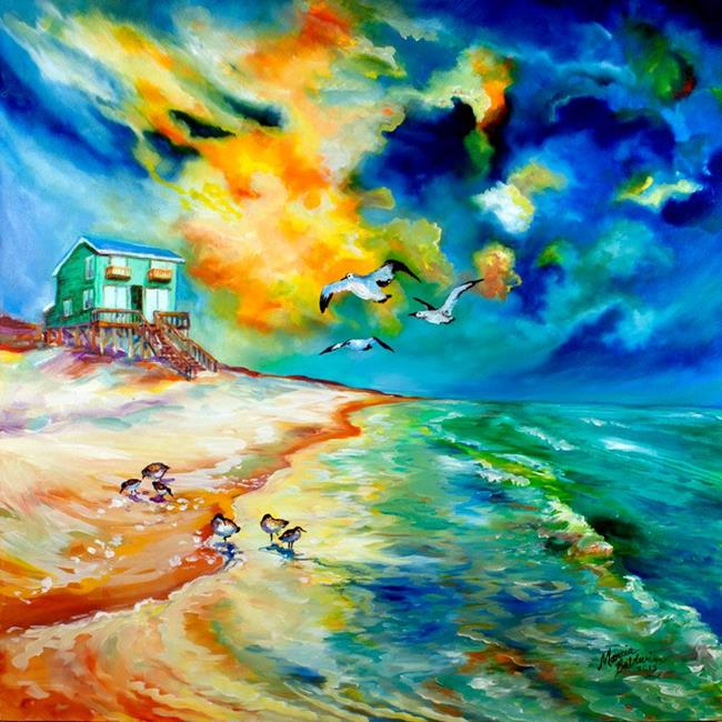 Art: GULF SHORES COMMISSION by Artist Marcia Baldwin