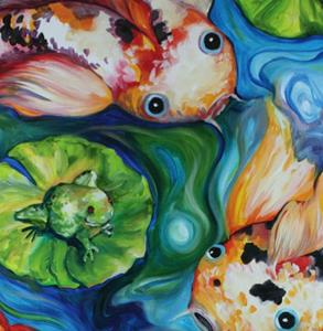 Detail Image for art KOI TOY COMMISSIONED