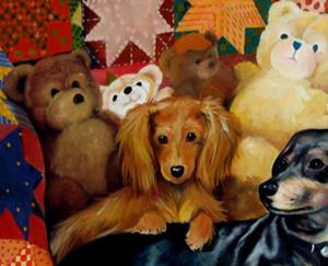 Detail Image for art Commission A Portrait by M Baldwin