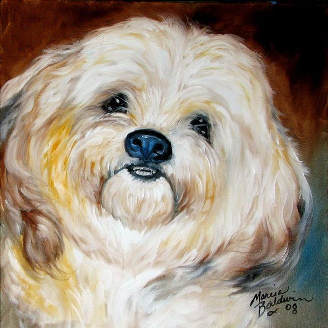 My Shaggy Dog By Marcia Baldwin From All Art Galleries Search