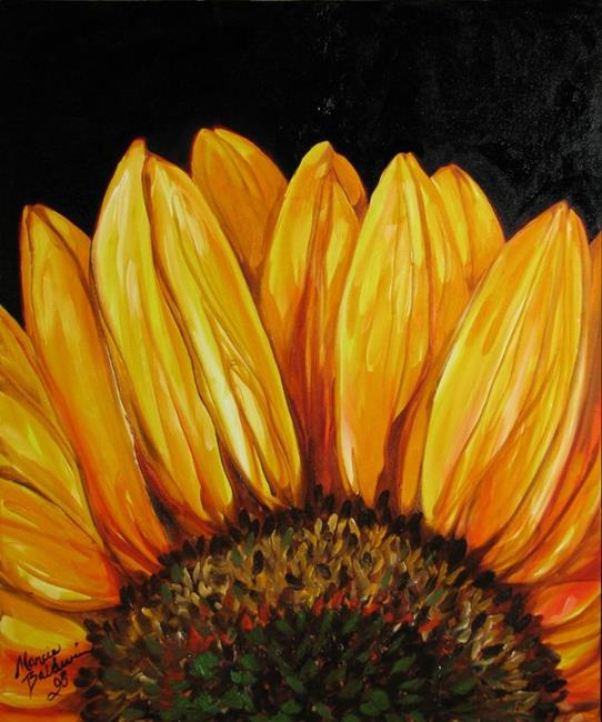Sunflower Sunflower By Marcia Baldwin From Commissioned