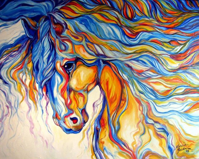Art: HORSEHEART FOR JON by Artist Marcia Baldwin
