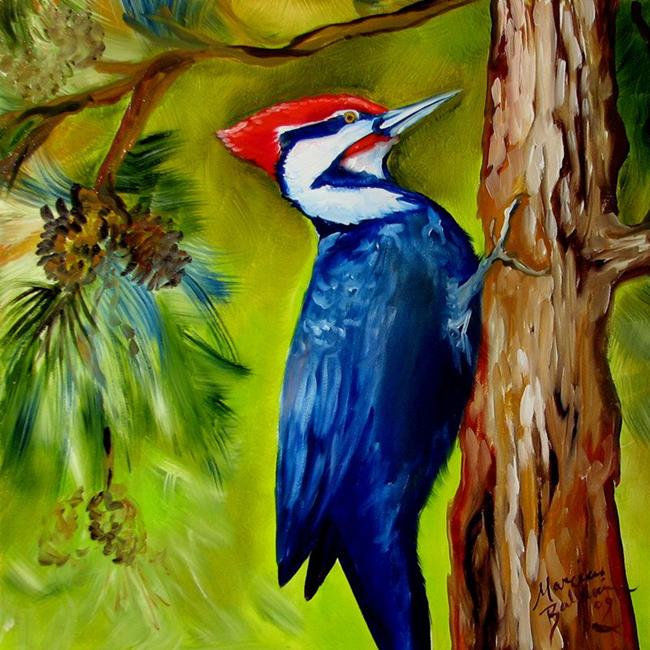 PILEATED WOODPECKER - by Marcia Baldwin from COMMISSIONED ...
