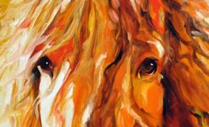 Detail Image for art ABSTRACT STALLION COMMISSIONED