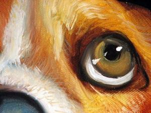 Detail Image for art I'M SORRY BASSETT HOUND