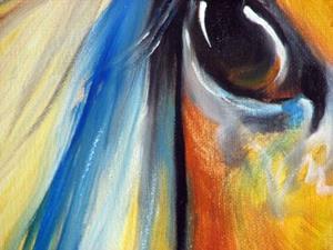 Detail Image for art GYPSY VANNER MANE